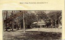 Image of Becker's Camp, Fourth Lake, Adirondacks, N.Y.  - Postcard