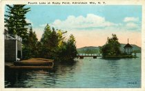 Image of Fourth Lake at Rocky Point, Adirondack, Mts., N.Y.  - Postcard