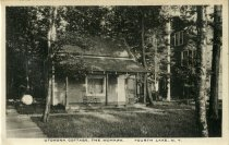 Image of Utowona Cottage, The Mohawk Fourth Lake, N.Y.  - Postcard