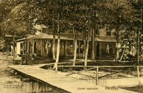 Image of Camp Meeker, 4th Lake - Postcard