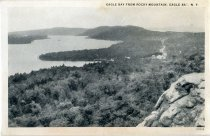 Image of Eagle Bay from Rocky Mountain, Eagle Bay, N.Y.  - Postcard