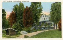 Image of Eagle Bay Hotel, Fourth Lake, Adirondacks - Postcard