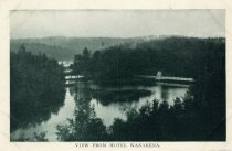 Image of View From Hotel Wanakena - Postcard