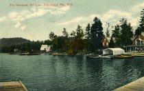 Image of The Kenmore, 4th Lake, Adirondack Mts., N.Y.  - Postcard