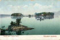 Image of Fourth Lake ; Fulton Chain ; Adirondack Mountains. - Postcard