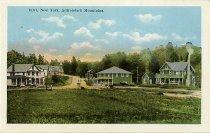 Image of Inlet, New York, Adirondack Mountains. - Postcard