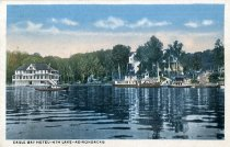Image of Eagle Bay Hotel-4th Lake-Adirondacks - Postcard