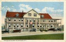 Image of Van Aukin's Tavern, Fulton Chain, N.Y. - Postcard