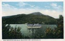Image of Blue Mountain and Blue Mountain Lake-Adirondacks - Postcard