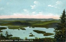 Image of Blue Mountain Lake, Adirondacks, N.Y. - Postcard