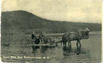 Image of Scene Near Blue Mountain Lake, N.Y. - Postcard