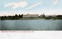 Image of Adirondack Mountains, Saranac Inn Upper Saranac Lake - Postcard
