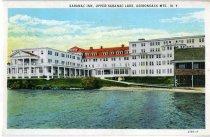 Image of Saranac Inn, Upper Saranac Lake, Adirondack Mts., N.Y. - Postcard