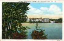 Image of Saranac Inn on Upper Saranac Lake, Adirondack Mts., N.Y.  - Postcard