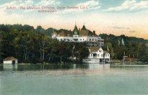 Image of The Wawbeek Cottages, Upper Saranac Lake, Adirondacks - Postcard