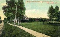 Image of Cottages at Saranac Inn, Upper Saranac Lake, Adirondacks, N.Y. - Postcard