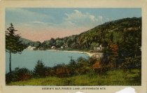 Image of Higgin's Bay, Piseco Lake, Adirondack Mts. - Postcard