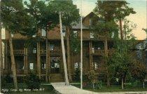 Image of Higby Camp, Big Moose Lake, N.Y.  - Postcard