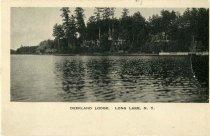 Image of Deerland Lodge, Long Lake, N.Y. - Postcard