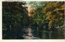 Image of View On River, Old Forge, N.Y.  - Postcard