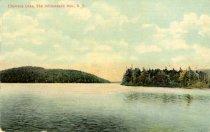 Image of Utowana Lake, The Adirondack Mts., N.Y.  - Postcard
