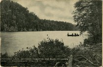 Image of Utowana Lake, between Raquette and Blue Mt. Lakes Adirondack Mts., N.Y. - Postcard