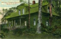 Image of The Green Cottage at Glennmore, Big Moose, N.Y. - Postcard