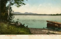 "Image of In the Adirondacks. Looking north from the ""Antlers"", Raquette Lake. - Postcard"