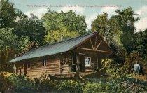 Image of Wicks Camp, West Canada Creek, A.L. C. Forest Lodge, Honnedaga Lake, N.Y. - Postcard