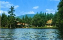 Image of The Hedges, Blue Mountain Lake, New York - Postcard