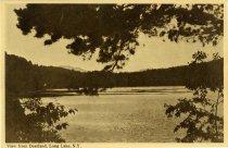 Image of View from Deerland, Long Lake, N.Y. - Postcard