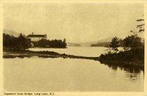 Image of Sagamore from Bridge, Long Lake, N.Y. - Postcard
