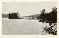 Image of Long Lake from Sagamore Hotel, Long Lake, N.Y. - Postcard