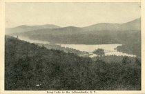 Image of Long Lake in the Adirondacks, N.Y. - Postcard