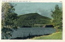 Image of Blue Mt. Across Blue Mt. Lake, Blue Mt., N.Y. - Postcard