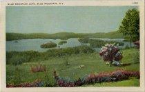 Image of Blue Mountain Lake, Blue Mountain Lake, N.Y. - Postcard