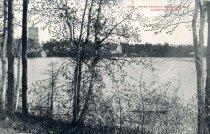 Image of Upper Saranac lake Back Bay, Adirondack Mts. - Postcard