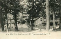 Image of Little Moose Club House, near Old Forge, Adirondack Mts., N.Y.  - Postcard