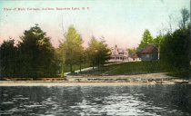 Image of View of Main Cottage, Antlers, Raquette Lake, N.Y.  - Postcard