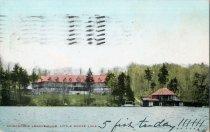 Image of Adirondack League Club, Little Moose Lake - Postcard