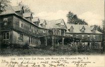 Image of Little Moose Club House, Little Moose Lake, Adirondack Mts., N.Y.  - Postcard