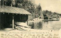 Image of Little Moose Lake, Adirondack League Club, Adirondack Mts., N.Y.  - Postcard