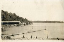 Image of View from Raquette Lake House, Raquette Lake, N.Y.  - Postcard