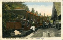 Image of Marion River R. R. Raquette Lake to Marion River, Shortest Standard Gauge R. R. in the World - Postcard