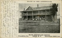 Image of Heart of the Adirondacks Blue Mountain House Franklin Co. Gile, N.Y. Elevation 2220 feet - Postcard