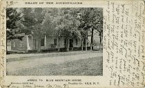 Image of Heart of the Adirondacks Annex to Blue Mountain House Elevation 2220 feet  Franklin Co. Gile, N.Y.  - Postcard