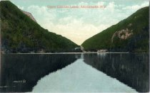 Image of Upper Cascase Lakes, Adirondacks, N.Y. - Postcard