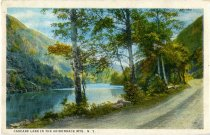Image of Cascade Lake In The Adirondack Mts., N.Y. - Postcard