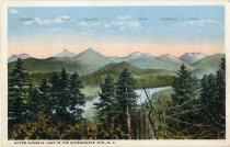 Image of Lower Au Sable Lake, Adirondack Mts, N.Y.  - Postcard