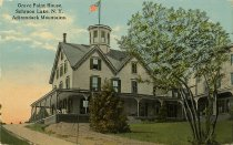 Image of Grove Point House, Schroon Lake, N.Y. Adirondack Mountains. - Postcard